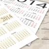 シンプル&ヴィンテージ! 2014年度版ハイクオリティーなベクターカレンダーいろいろ(EPS・SVG)