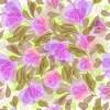 お花が抽象的でアート! 継ぎ目なしのシームレスパターン背景素材(VECTOR)