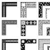 ゴージャス&エレガント! コーナー飾り フリーベクター素材28点(EPS)