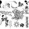 無料のベクター飾り、コーナー飾り、クリップアート、シンボルなどエレメント集(商用可・AI)