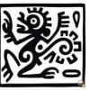 古代エジプト画や象形文字のような無料ベクター素材