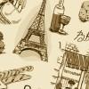 おしゃれ! フランス(パリ)がイメージのベクターイラスト素材まとめ(AI・EPS・SVG)