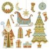 カードやweb素材に使いたい! かわいいChristmasのイラスト素材(EPS)