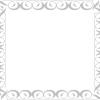 シンプルなベクターフレーム、飾り枠とコーナー飾り