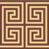 独特な世界観! ギリシャ伝統の模様-メアンドロス柄の飾り罫いろいろ(EPS)