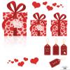 バレンタインに使いたいハートのクリップアート・イラスト素材