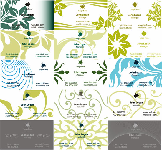 Pattern Cards : 名札 テンプレート 無料 かわいい : 無料