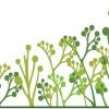 シンプルな木(ツリー)の無料ベクター背景素材(商用可・EPS)