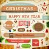 WEB素材・カード作りに!CUTEなクリスマスのイラスト素材(商用可・AI・EPS)