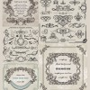 無料の飾り枠・飾りケイ・フレーム素材(ベクターデータ)