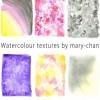 フリーで使える!カラフルな水彩テクスチャ素材(3セット合計22種類)