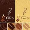 ウェルカムボードやメニューにコーヒーカップのイラスト素材
