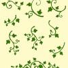 アイビーの飾り罫9種類(ベクトル&透過PNG)