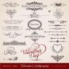 ヴァレンタイン以外でも!無料のベクター飾り罫・飾り枠セット(AI・EPS)