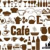 カフェ・レストランのメニュー作りに! いろいろ揃ったベクターシルエット素材(商用可・AI・EPS・SVG・CSH)