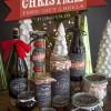 これおしゃれ!クリスマスパーティーを楽しくするボトルのラベルリメイク用 無料素材(PDF)