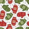 背景素材・ラッピングペーパーに! レトロなクリスマスのイラスト素材(商用可・EPS)