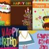 お誕生日に! メッセージカード無料テンプレートいろいろ(EPS)