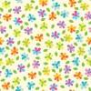 かわいい! お花や葉っぱのパターン素材 ラッピングや背景に!