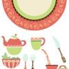 超キュート!テーブル・お料理にまつわるかわいいイラスト&クリップアート集