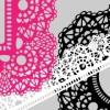 ゴシック系レースのイラスト素材21種類(商用可・AI・EPS・PNG)