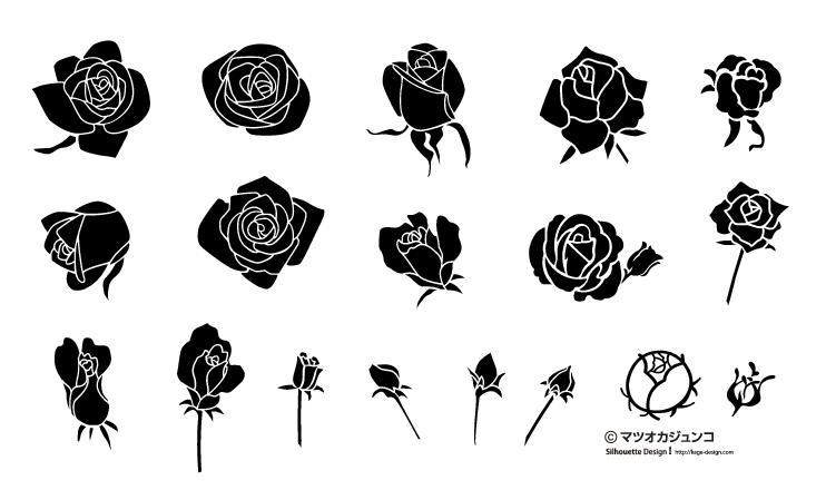 バレンタインカードのデザインにバラのベクターイラスト素材まとめai