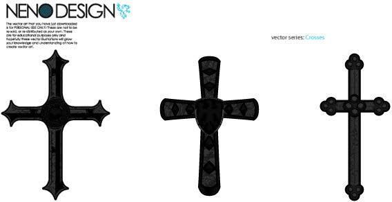 Free Vector Cross