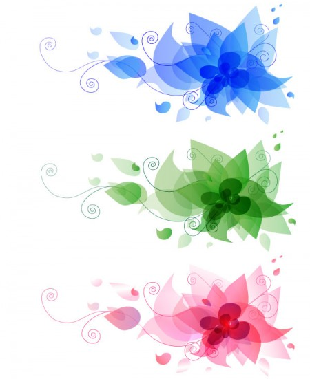 124-abstract-flower-design-vector-free