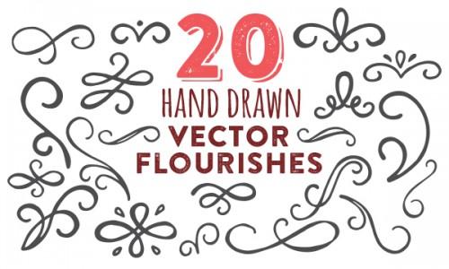 20-vector-flourishes