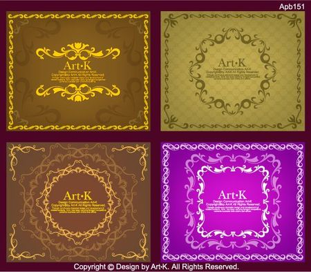 4-simple-European-style-lace-Vector-material.jpg