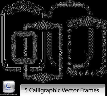 5-Calligraphic-Vector-Frame-thumb-450x403-3488