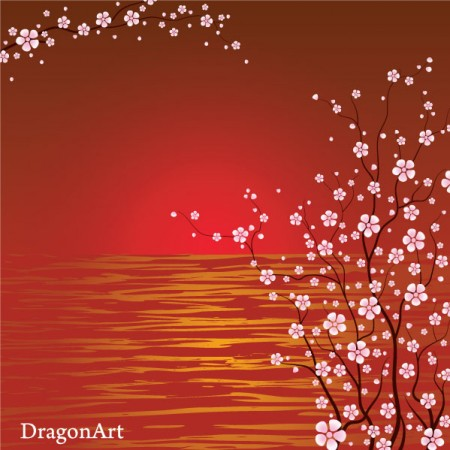 25-vector-japanese-cherry-blossoms-450x450