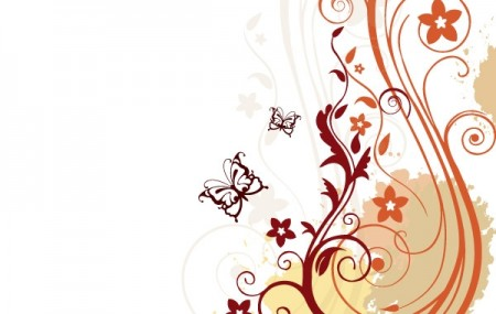 3180-Floral-vector-background