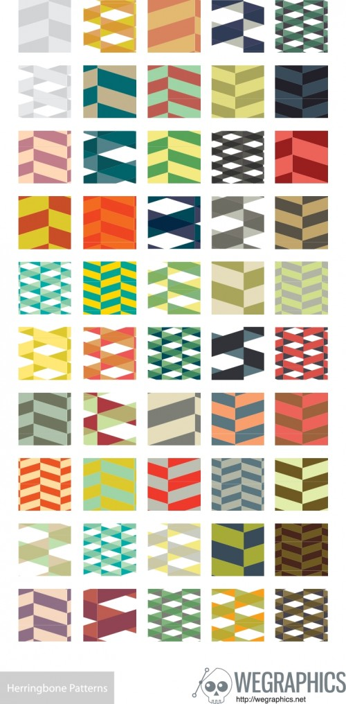 50-Free-Herringbone-Illustrator-Pattern-Swatches-500x1016
