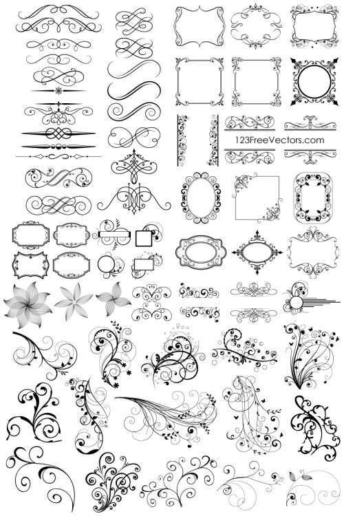 65-free-floral-vector-ornaments-pack-500x750