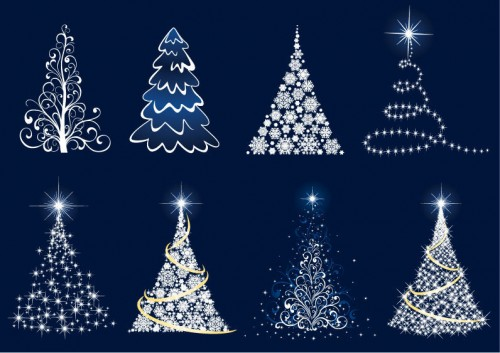 Abstract-Christmas-Tree-Vector-Set-500x353