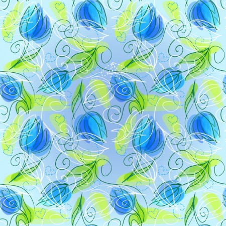 Abstract-Floral-Seamless-Vector-Background-450x450