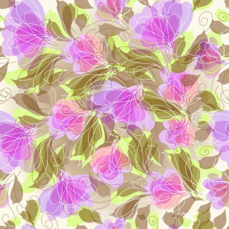 Abstract-Seameless-Floral-Background-Vector-Graphic-450x449