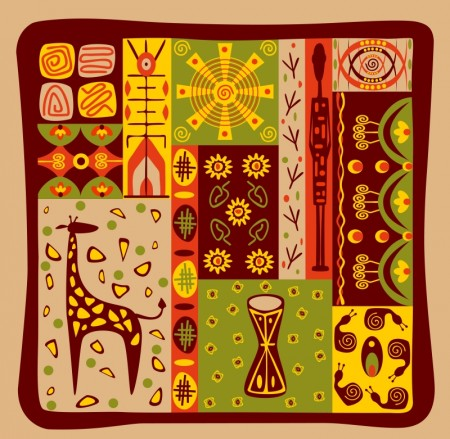 African ornament 03