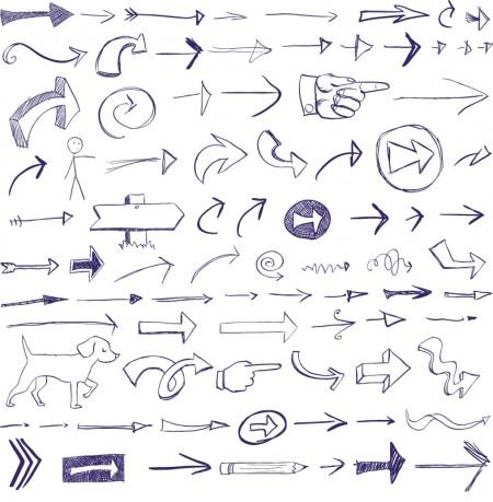 Arrow-Doodles-450x459