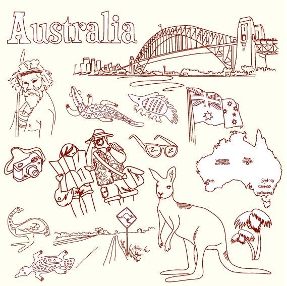カレンダー カレンダー シンプル 2014 : イタリア&オーストラリアに関 ...