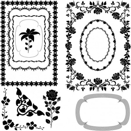 Beautiful-border-pattern-vector-material02_inlazy.com_-450x450