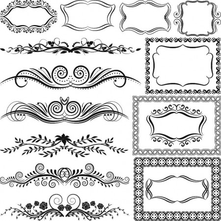 Beautiful-border-pattern-vector-material03_inlazy.com_-450x450