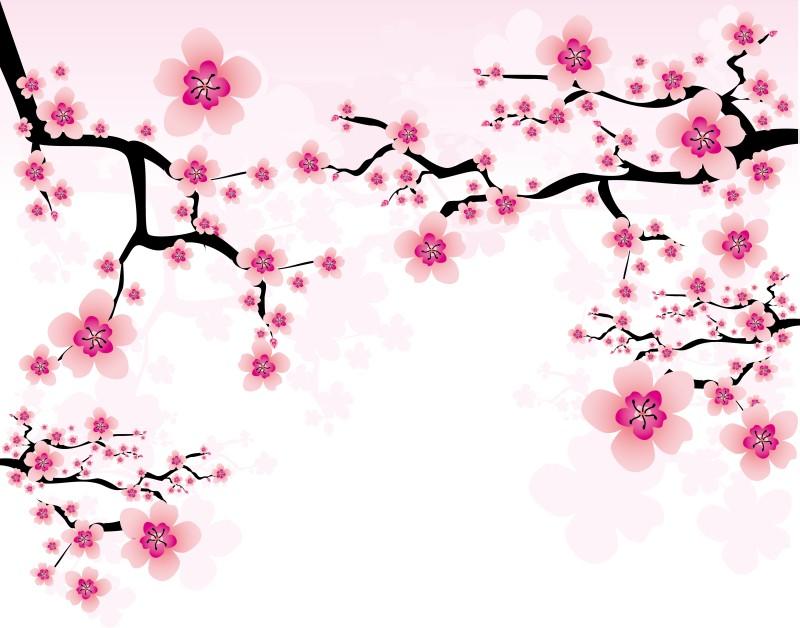 年賀状に使えそうな梅のベクターイラスト素材いろいろお正月aieps