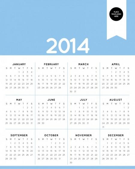 シンプル&ヴィンテージ!2014 ... : 2014 カレンダー 月曜始まり : カレンダー
