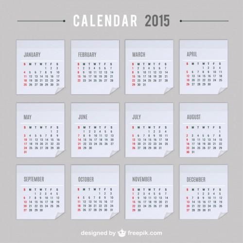 カレンダー 2015年カレンダー祝日入り : にそろえたお洒落なカレンダー ...