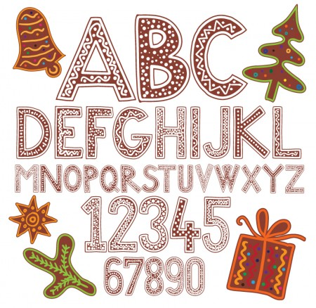 Cartoon-Christmas-Alphabet-Vector-450x438