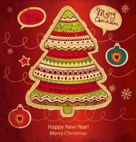 Cartoon-Christmas-new-year-cards-vector-01-450x468