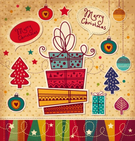 Cartoon-Christmas-new-year-cards-vector-02-450x468