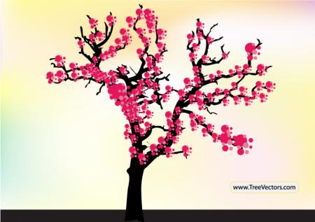 Cherry-Blossom-Tree-Vector